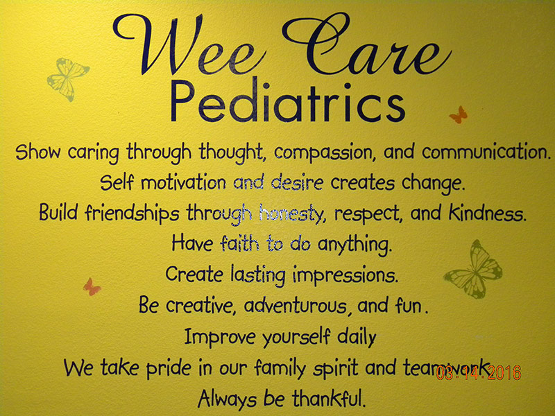 Principles of a good Pediatric Office