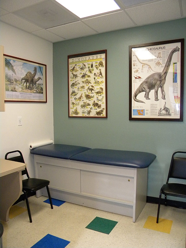 Educational exam rooms