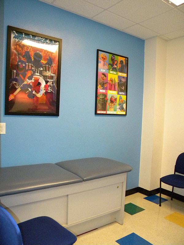 Child friendly pediatric office in Las Vegas
